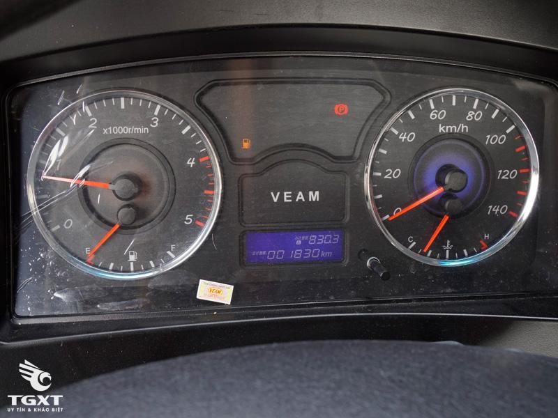 Xe Cẩu Veam VT1100 8 Tấn Gắn Cẩu Soosan SCS746L 7 Tấn 6 Khúc