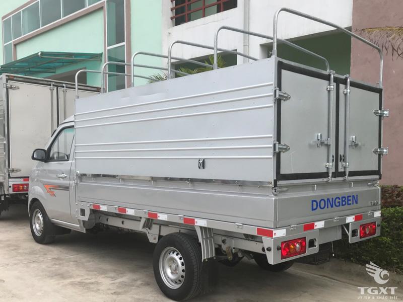 Xe Tải Dongben T30 990Kg Thùng Bạt