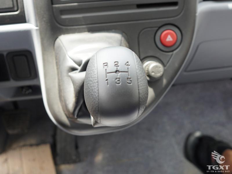 Xe Tải Fuso Canter 4.7LW 1T5 Chở Mô Tô Xe Máy