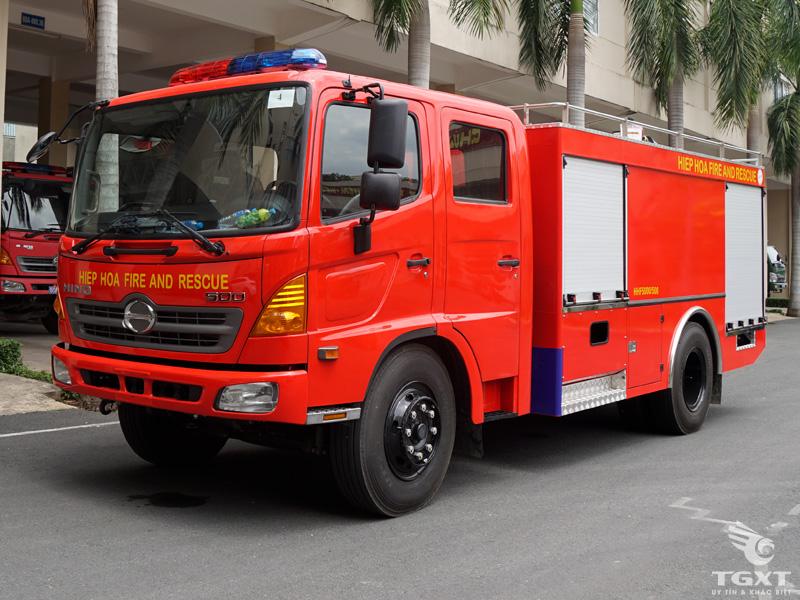 Xe Chữa Cháy Hino 5 Khối - FG8JJSB