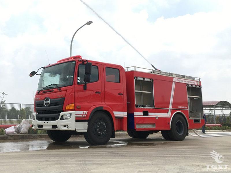 Xe Cứu Hỏa Hino FG8JJ7A 6.5 Khối