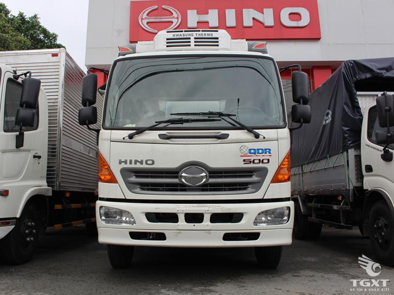 Xe Đông Lạnh Hino FC9JNTC 5.7 Tấn Thùng Dài 7m2