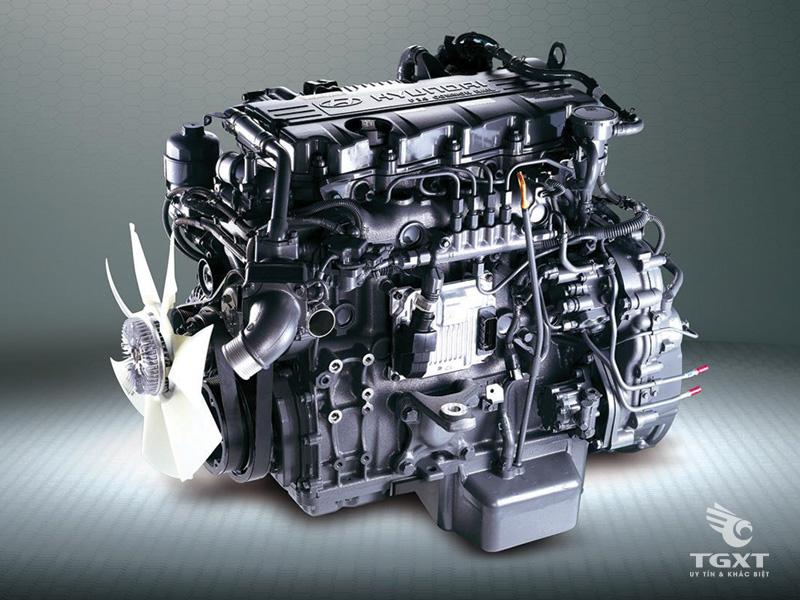 Xe Tải Hyundai Mighty HD110XL 6 Tấn Thùng Mui Bạt Bửng Nâng