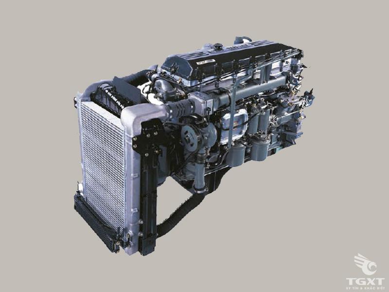 Xe Tải Hyundai HD260 9 Tấn Gắn Cẩu Kanglim KS2056T/S