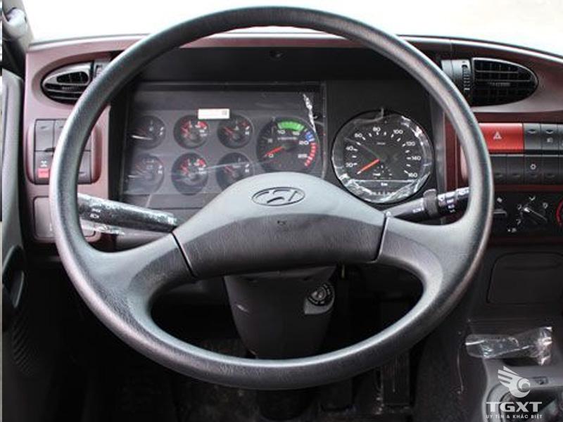 Xe Cẩu Hyundai HD360 5 Chân 17 Tấn Gắn Cẩu Dongyang 7 Tấn 6 Khúc