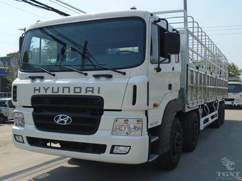 Xe Tải Hyundai HD320 17.5 Tấn Thùng Bạt Euro4