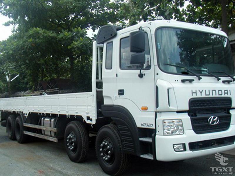 Xe Tải Hyundai HD320 18 Tấn Thùng Lửng