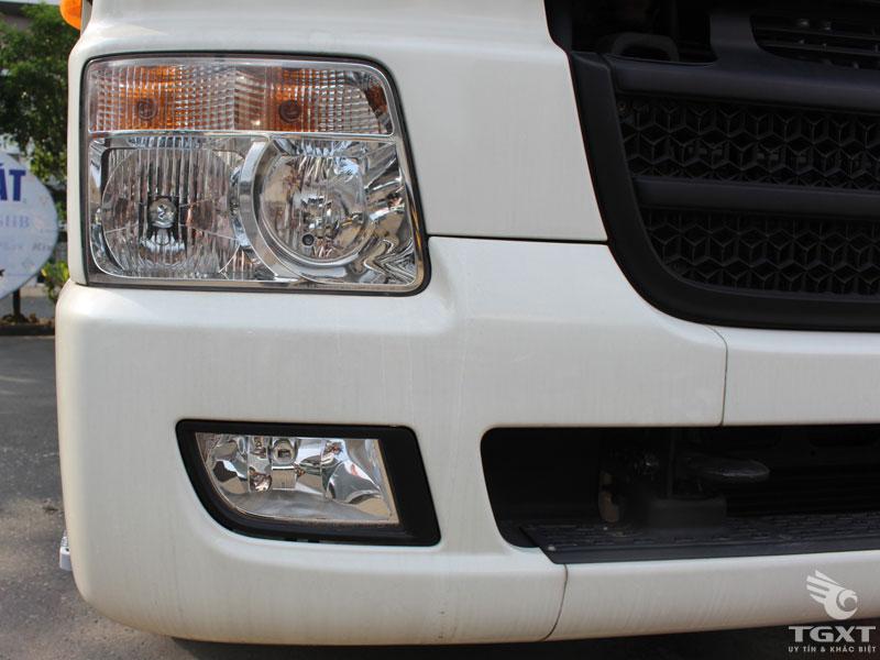 Xe Cẩu Hyundai HD360 5 Chân Gắn Cẩu HKTC HLC10015S