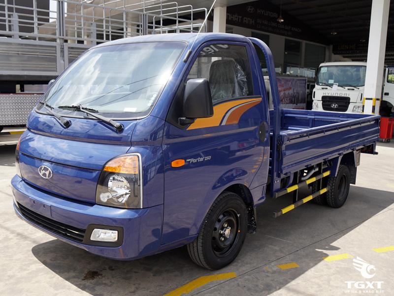 Xe Tải Hyundai New Porter H150 1.5 Tấn Thùng Lửng
