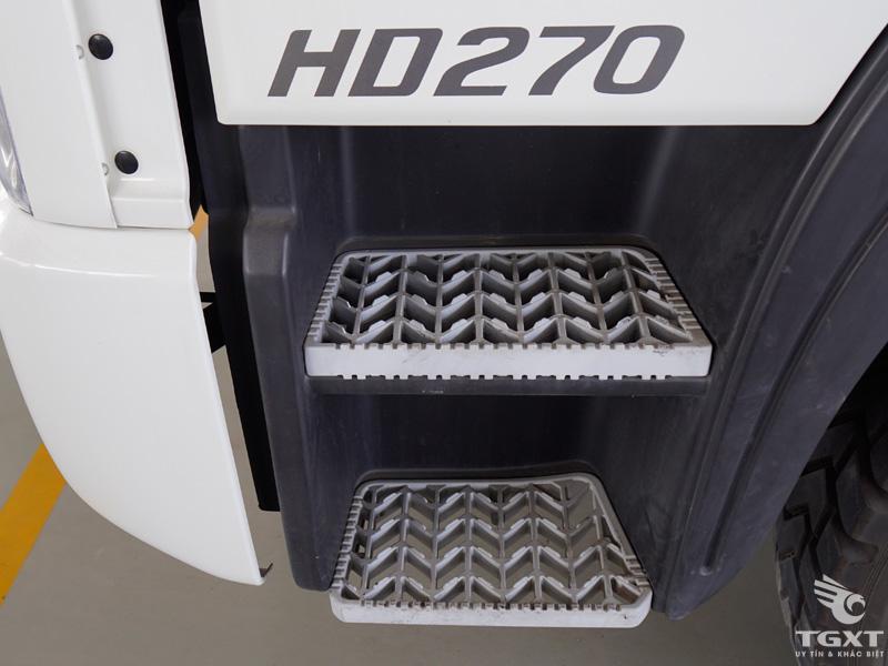 Xe Bồn Trộn Bê Tông Hyundai HD270 7 Khối
