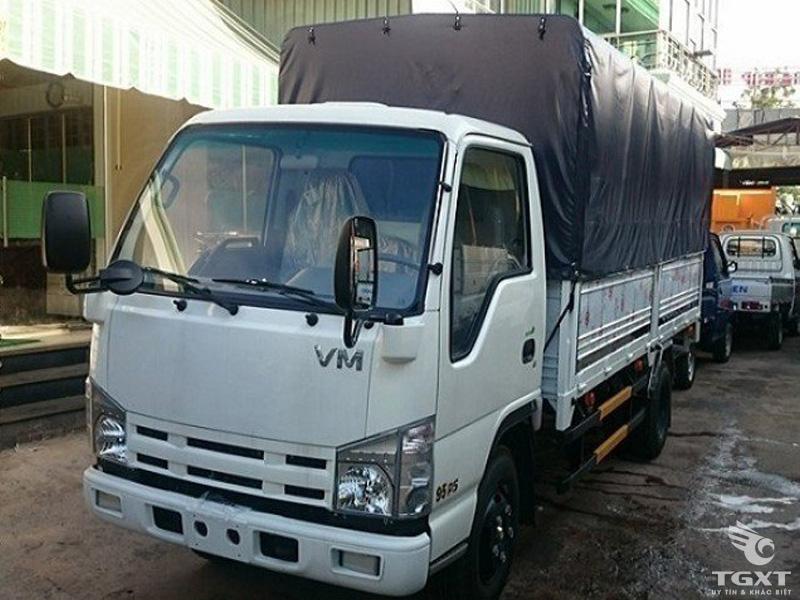 Xe Tải Isuzu Vĩnh Phát NK490 2.4 Tấn Thùng Bạt