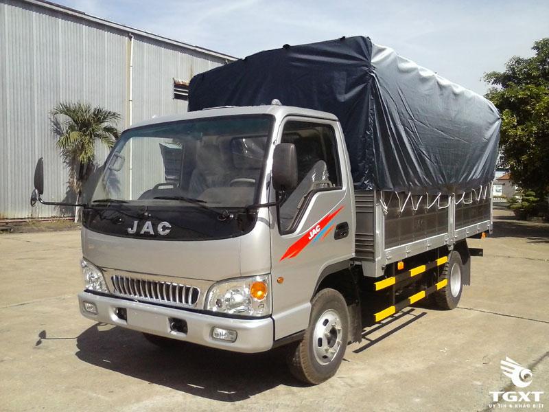 Xe Tải Jac HFC 1061K3 5 Tấn Thùng Bạt