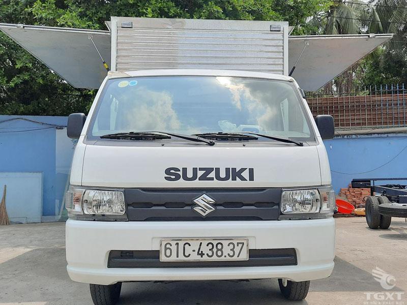 Xe Tải Suzuki Carry Pro 750Kg Thùng Kín Cánh Dơi