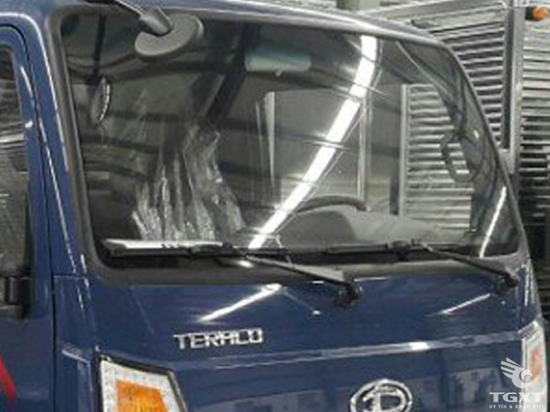 Xe Tải Teraco Tera 240S 2T4 Thùng Kín Gắn Bửng Nâng