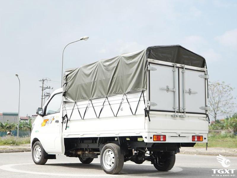 Xe Tải TMT Cửu Long K01S 990Kg Thùng Mui Bạt