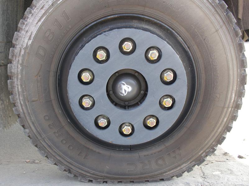 Xe Tải Cửu Long TMT KC240145T 3 Chân Thùng Bạt 14T5
