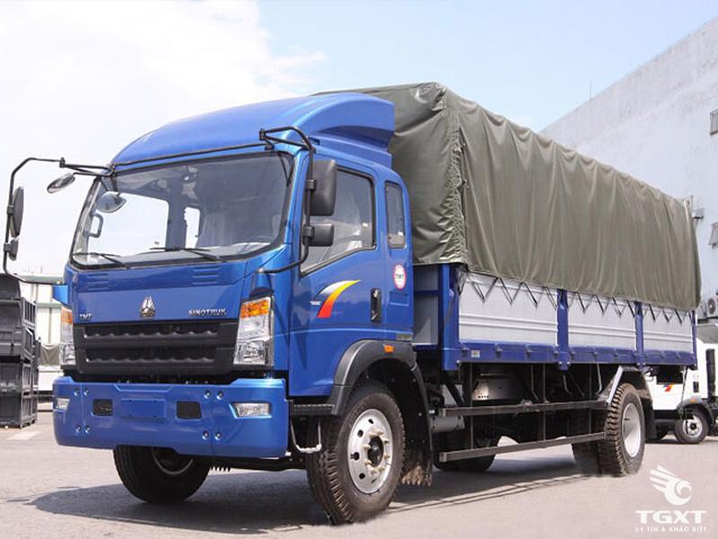 Xe Tải TMT Sinotruk ST8160T Thùng Mui Bạt 6 Tấn