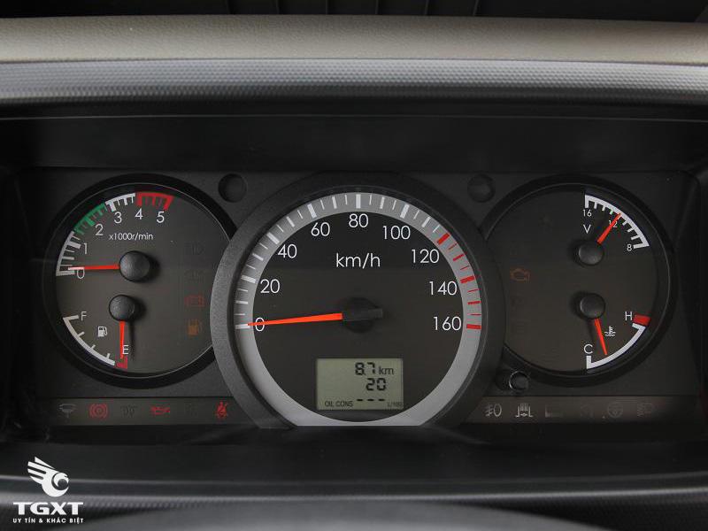 Xe Tải Veam VT650 6.5 Tấn Thùng Bạt