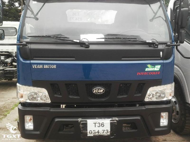 Xe Tải Veam VT650 6.5 Tấn Thùng Kín